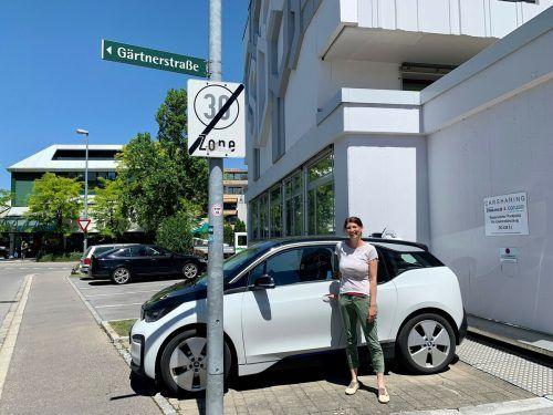 Caruso hat bei der Sparkasse in der Schillerstraße einen weiteren Carsharing-Standort eingerichtet.Gemeinde