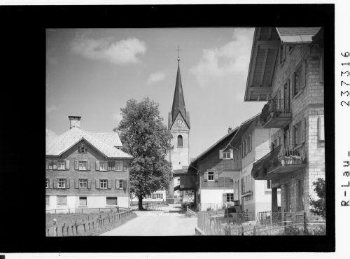 Eine alte Ansicht derVorderwäldergemeinde.