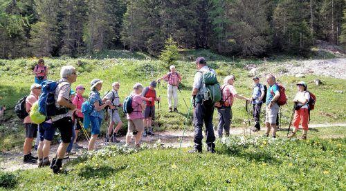 Eine schöne Wanderung vom Seniorenbund im Brandnertal genossen bei herrlichem Sonnenschein die Bergfreunde.Seniorenbund