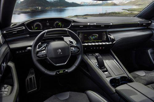 Es bleibt auch im starken PSE beim i-Cockpit – eine Peugeot-Kreation.