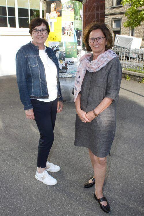 Evelyn Lampert (l.) und Sonja Walser waren begeistert.