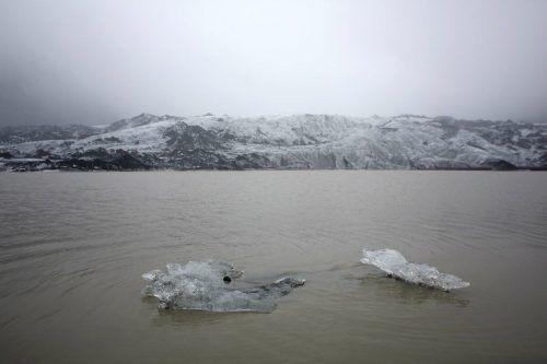 Experten warnten, dass die Gletscher bis2200 ganz verschwinden könnten. RTS