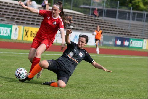 FCD-Spielerin Livia Klocker und Co. ließen den Tirolerinnen keine Chance.TK