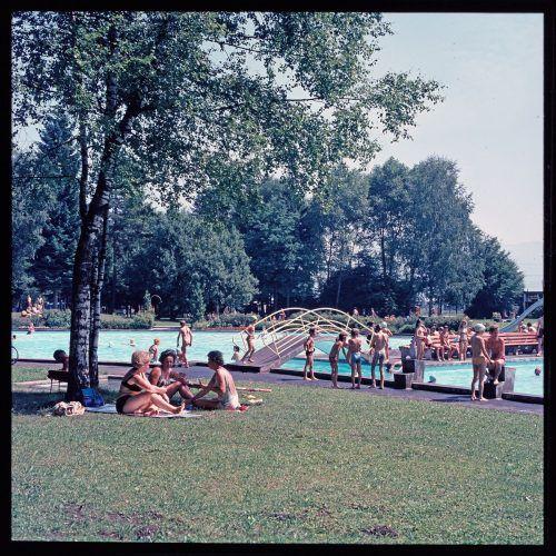 Feldkirch, Waldbad Gisingen, 1973