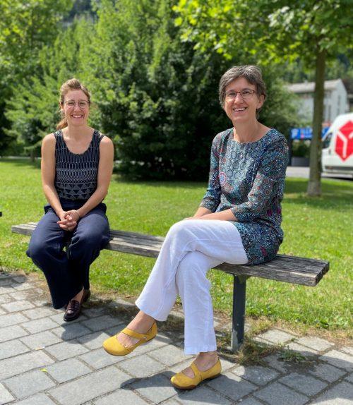 Femail-Geschäftsführerin Sarah Bard (l.) und Referentin Sabine Mandl. VN/MIH
