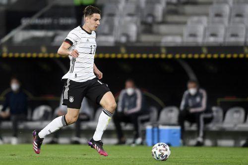 Florian Neuhaus erzielte das 1:0 für Deutschland im Test gegen Dänemark.ap