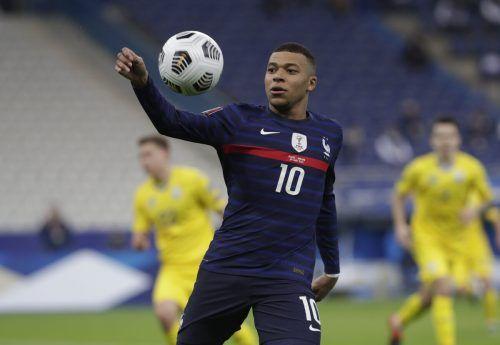Frankreich mit Kylian Mbappé wird für das deutsche Nationalteam bei der EM der erste Gradmesser.