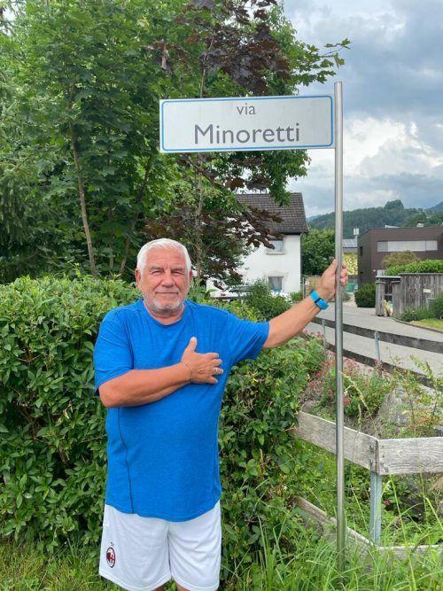 Franz Minoretti lebt seine Liebe zum Land seiner Vorväter.VN