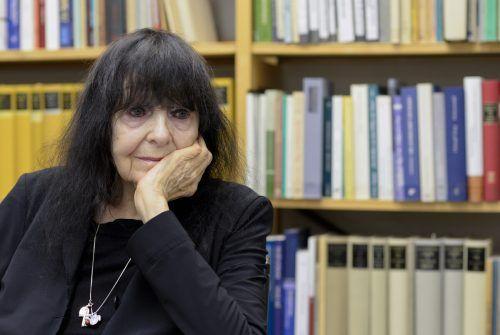 Friederike Mayröcker wurde unter anderem mit dem Georg-Trakl-Preis, dem Hölderlin-Preis und dem Büchner-Preis ausgezeichnet. Apa