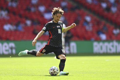 Für Luka Modric könnte die EM das letzte große Turnier seiner Karriere für das kroatische Nationalteam sein. ap