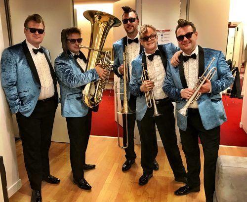 Für Sonus Brass haben die Auftritte mit Musiktheaterprojekten an verschiedenen Orten wieder begonnen. Am Wochenende waren die Musiker in Luxemburg. dünser