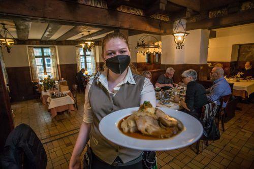 Gastronomiebetriebe erhielten nicht nur Coronahilfen des Bundes, sondern auch aus dem Landestopf. VN/Steurer