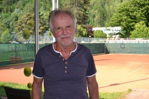 Hannes Hoch engagiert sich seit Jahren beim TC Bludenz.BI