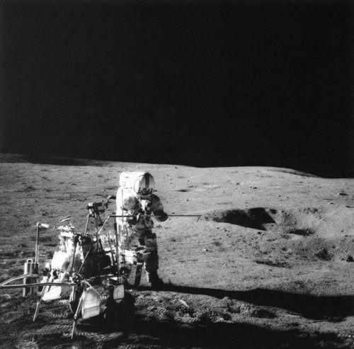 Helium 3 könnte man aus Mondgestein gewinnen und damit Fusionsreaktoren betreiben.ap