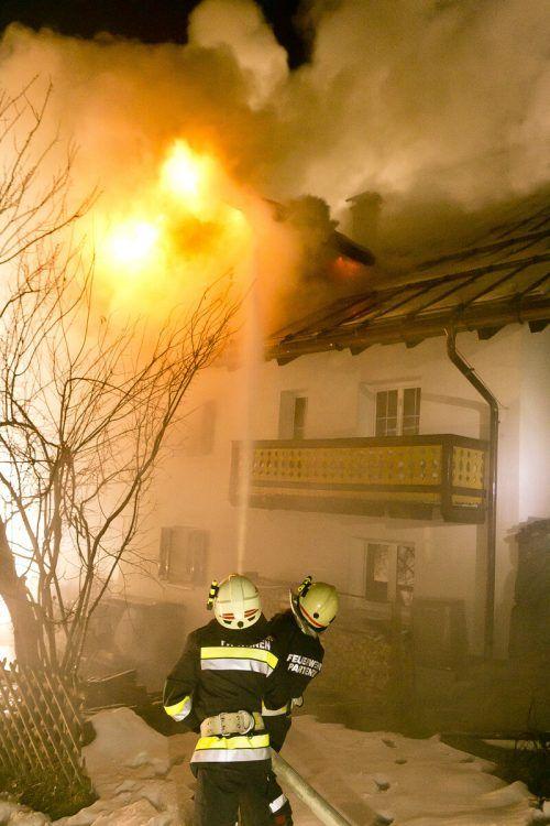 Im Dezember brannte das Personalhaus des Hotels Sonnblick in Gaschurn. mathis