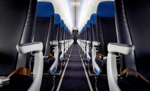Im ersten Lockdown 2020 waren im Wochenschnitt 7200 Flugzeuge inaktiv. afp