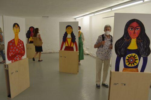 """Im Rahmen der Ausstellung """"Zu Hause in mir"""" in der Nenzinger Artenne findet am Mittwoch ein Erzählabend statt.EM"""