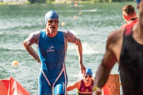 Im Schwimmen und beim Laufen markierte Bader jeweils die achtschnellste Zeiten.VTRV