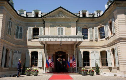 In der Villa La Grange oberhalb des Genfersees fand das Treffen statt. rts
