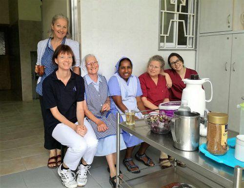 In Palästina arbeitete Andrea Kuckert-Wöstheinrich während ihres Jahresurlaubes in einem Pflegeheim.