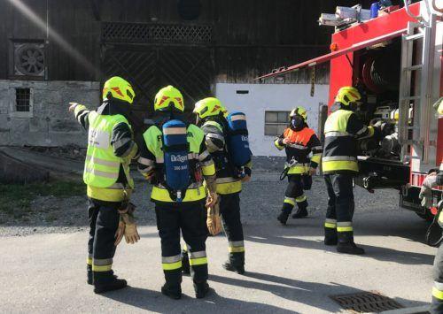 Insgesamt 26 Mal rückte die Feuerwehr Göfis zu Einsätzen aus. In Kleingruppen war auch ein Probenbetrieb an insgesamt 20 Abenden möglich. Feuerwehr Göfis