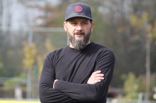 Iskender Iscakar startet als Vorderland-Coach ab Juli in die neue Saison.VN