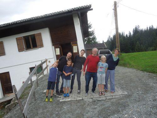 """Jeden Samstag finden im Sommer Führungen durch """"Felbers schiefes Haus"""" statt. ME/2"""