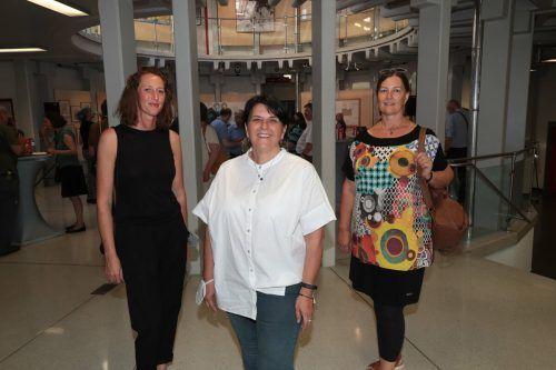 Johanna Isenberg, Elisabeth Fischnaller und Claudia Katz vom ARTelier.