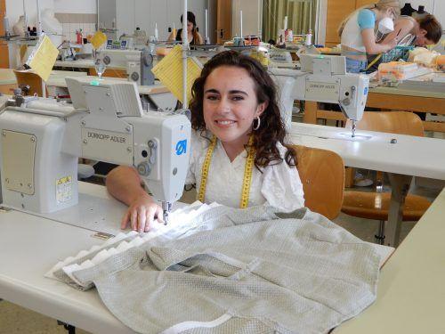 Julia Laut ist nun bereit, in der Modebranche durchzustarten.cth (2)