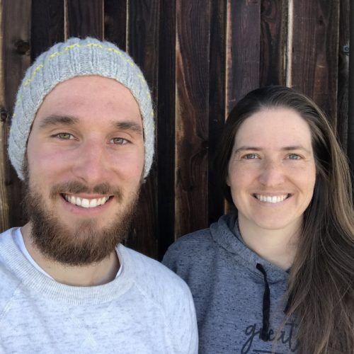 Julika Rieger und Patrick Kohlbacher aus Kärnten sind die neuen Hüttenwirte der Tübinger Hütte.Privat
