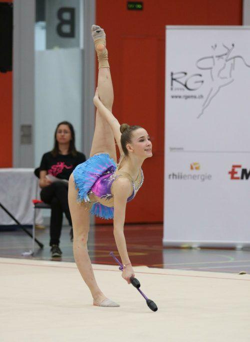 Katharina Amann (TS Dornbirn) wurde Landesmeisterin in der Eliteklasse.Verband