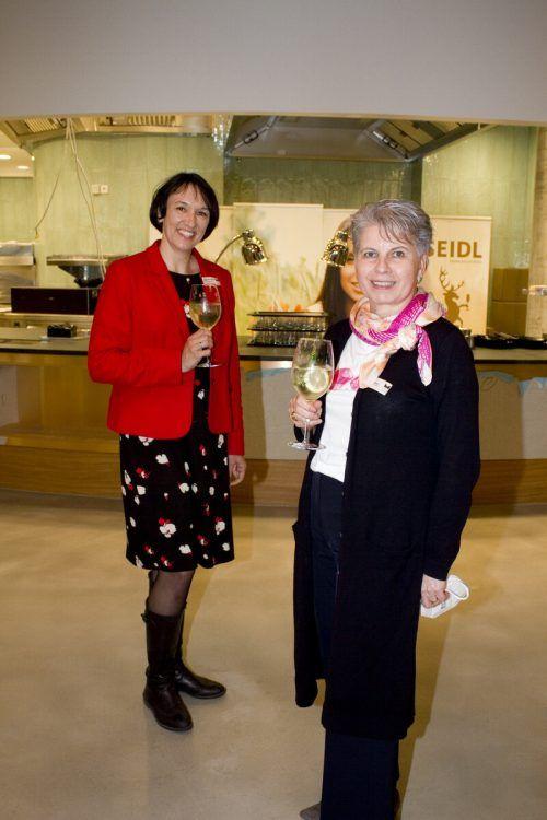 Kerstin Biedermann-Smith (l.) und Brigitte Plemel.
