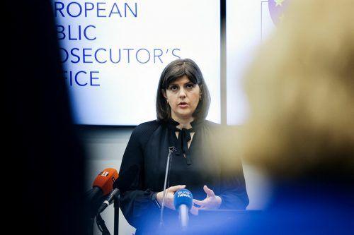Leiterin ist die rumänische Korruptionsjägerin Kövesi. AFP