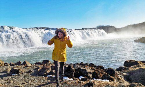Lena Monz erzählt von ihren Aufenthalten in China und Island.