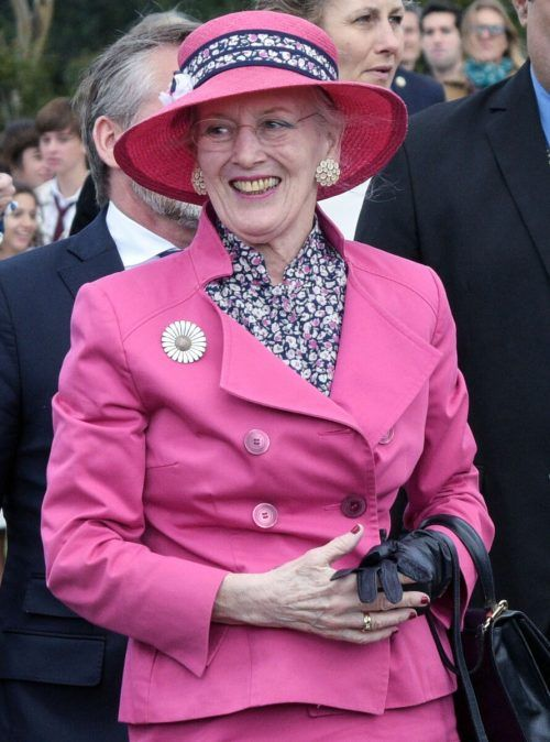 Lockerer verlief das Gespräch mit Königin Margrethe II. AFP