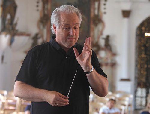 Manfred Honeck dirigierte wieder in Wolfegg.chv, hv