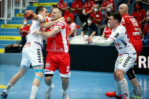 Marko Krsmancic war beim Auftaktsieg nicht zu stoppen. Verein