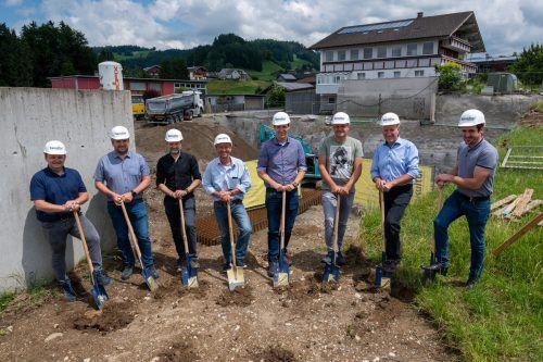 Markus Moosbrugger, Herbert Greber, Walter Beer, Ulrich Gärtner, Daniel Marte, Hermann Metzler, Erich Schwärzler und Martin Moosbrugger.