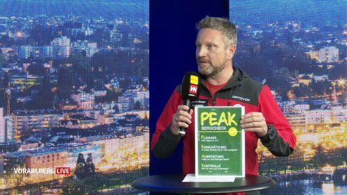 Martin Burger bittet um gute Vorbereitung. Vorarlberg Live