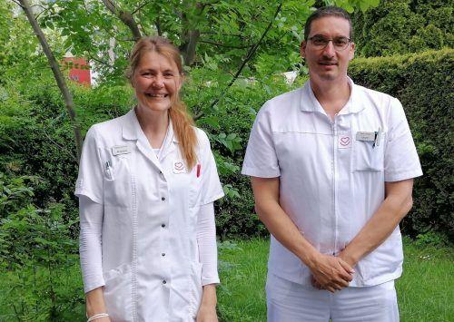 Martin Hauser übernimmt die Pflegeleitung des Hauskrankenpflegeteams von Angelika Burtscher.Mäser