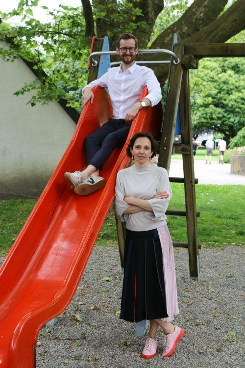 Martina Künsberg Sarre und Johannes Gasser hoffen, dass sich die Vereinbarkeit von Familie und Beruf bald bessert. VN