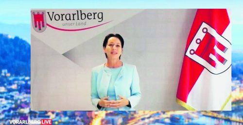 """Martina Rüscher war ins """"Vorarlberg live""""-Studio zugeschaltet.vn"""