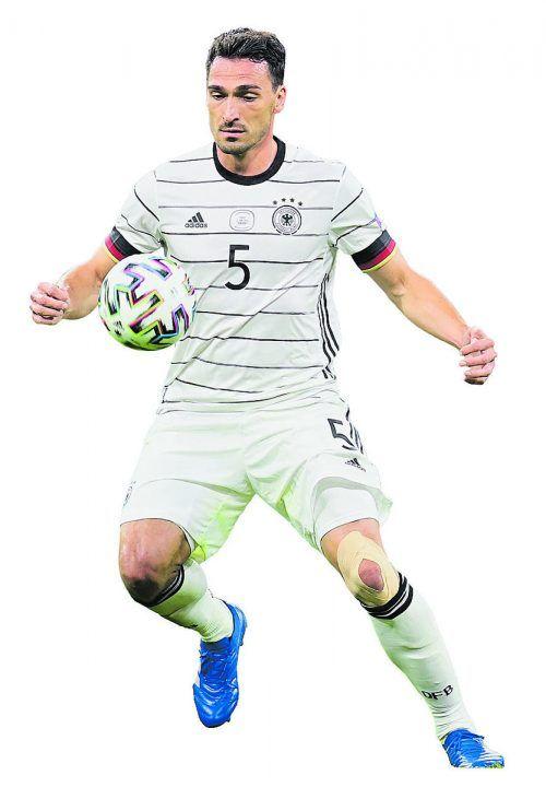 Mats Hummels war mit seinem Eigentor der große Pechvogel beim 0:1 gegen Frankreich.apa