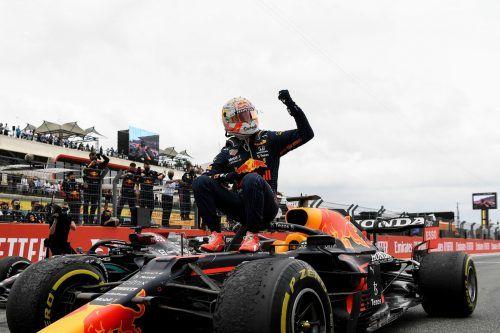 Max Verstappen triumphierte auch in Le Castellet, baute die WM-Führung gegenüber Weltmeister Lewis Hamilton auf zwölf Punkte aus.ap