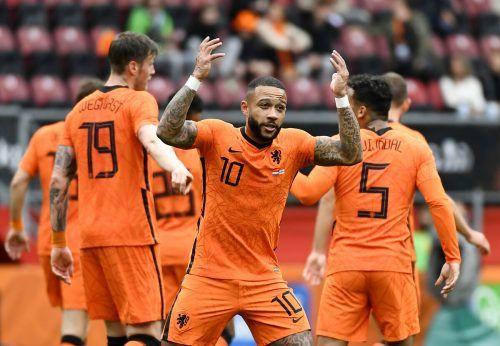 Memphis Depay ist Niederlands großer Hoffnungsträger bei der Europameisterschaft und soll mit Toren zum Start gegen die Ukraine eine Euphorie in der Heimat auslösen. reuters