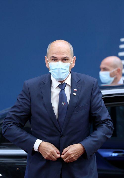 Ministerpräsident Janez Jansa sorgt mit Angriffen auf Medien und gegen Kritiker für Aufsehen. reuters