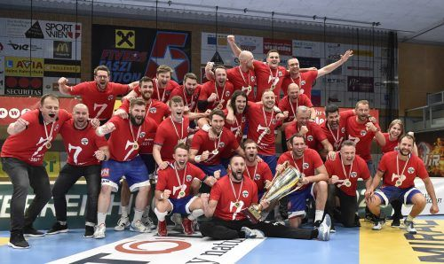 Mit dem siebten Meistertitel hat der Alpla HC Hard seine Position in der ewigen Bestenliste gefestigt und ist der erfolgreichste Klub in diesem Jahrzehnt.APA