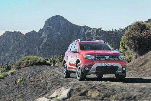 Modellpflege bei Dacia. Der Duster kommt im September überarbeitet auf den Markt.