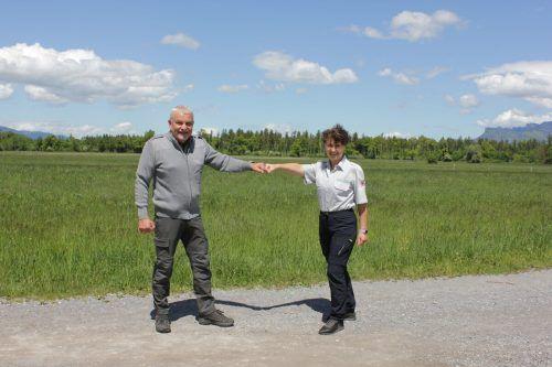 Nach drei Jahren zieht sich Günter Rigo als Obmann der Feldkircher Naturwächter zurück. Marion Eckert-Krause folgt ihm nach. Naturwächter Feldkirch