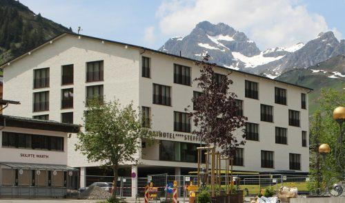 """Nach gefühlt """"ewig langer Pause"""" feiert das Sporthotel Steffisalp in Warth Neustart. STP/2"""